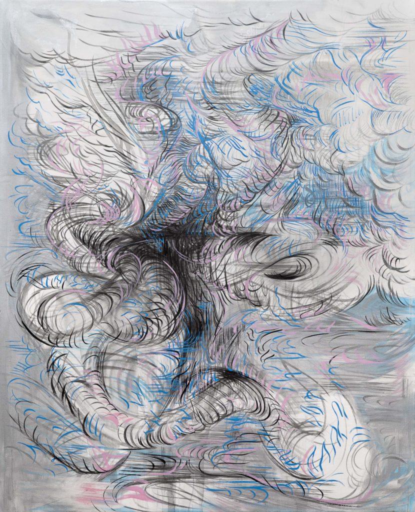 SERPENTINA. t.mixta s. tela. 100 x 80 cm --