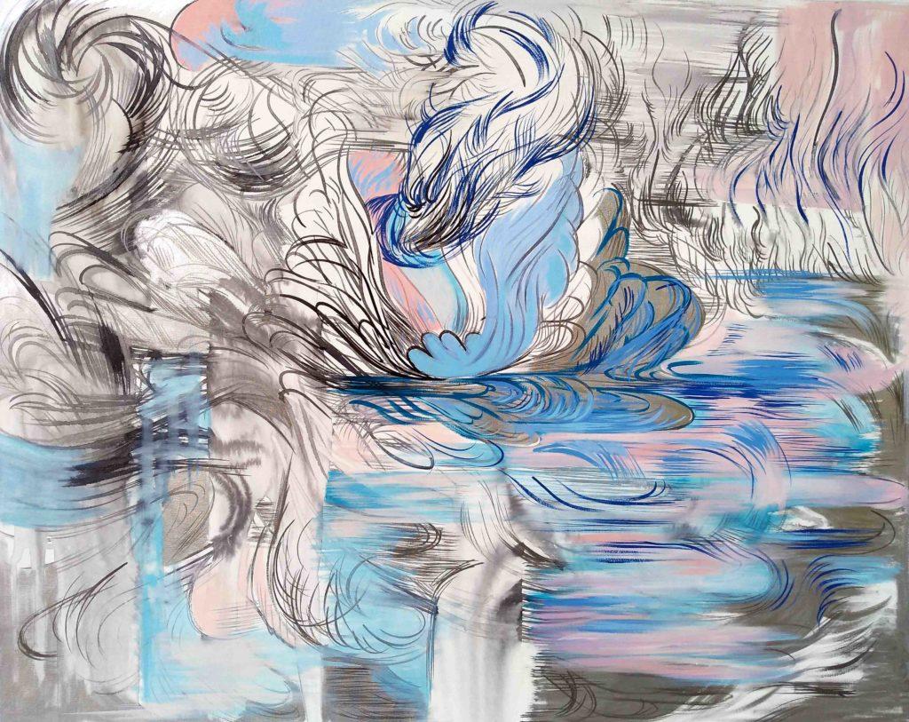 16 S.t.Acrilico-tinta-y-esmalte_sTela_90_x70_cm_Sin_bastidor_2018
